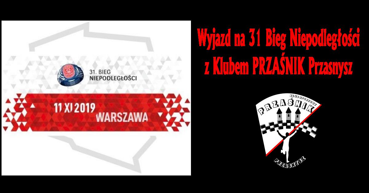 Wyjazd na Bieg Niepodległości do Warszawy