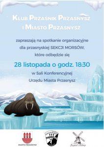 Spotkanie organizacyjne Sekcji Morsów