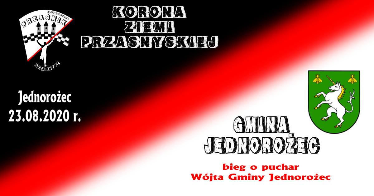 Bieg o puchar wójta gminy Jednorożec 23.08