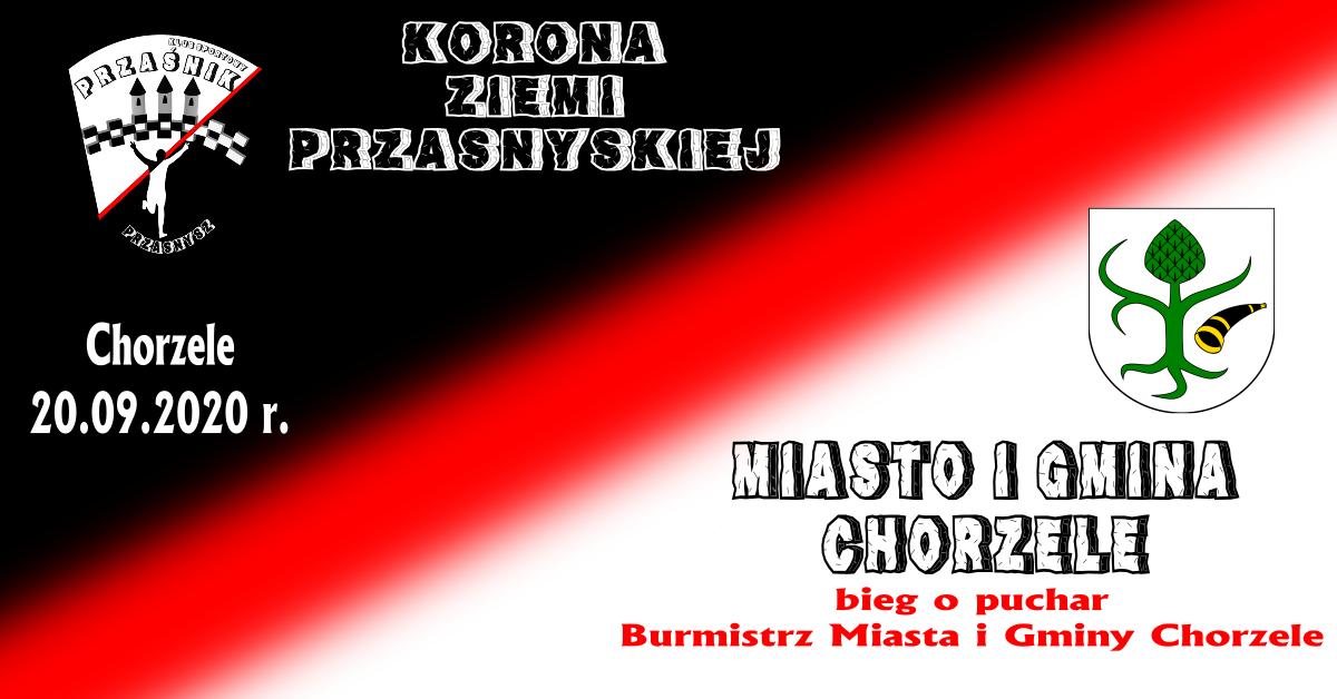 Bieg o puchar Burmistrz Miasta i Gminy Chorzele 20.09
